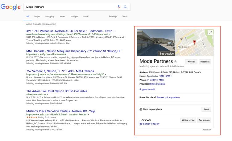 Moda Partners Google Search Screenshot.png